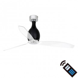 Ventilador DC MINI ETERFAN Negro Mate / Transp 32027