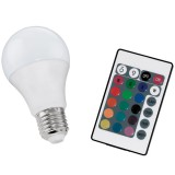 Bombilla LED RGB 7.5W E27 Mando Regulable 10899