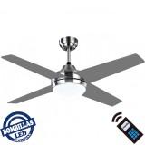 Ventilador LED EOLO Niquel Gris 025391410