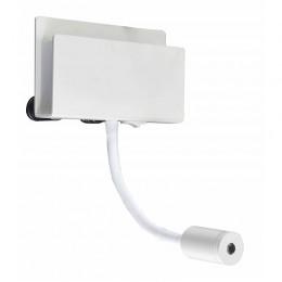 Aplique Cabarete Blanco 1+1L - 3+3 W - 3000K  5715