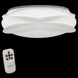 Plafon Lascas Blanco Con Mando 55W 5956