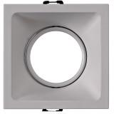 Empotrable Comfort Gu10 Cuadrado Blanco C0162