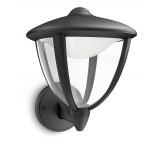 Aplique Robin LED Negro Exterior 15470/30/16