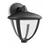 Aplique Robin LED Negro Exterior 15471/30/16