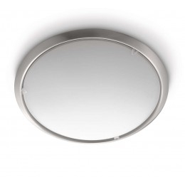 Plafon Metal Niquel Satinado Circle 300501716