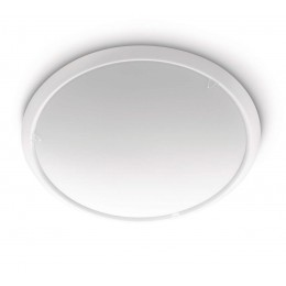 Plafon Metal Blanco Circle 2 x E27 300503116
