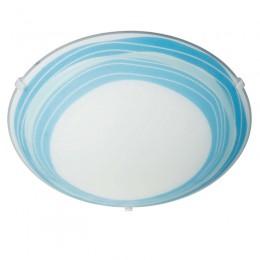 Plafon cristal Basic E27 Trudy Azul 301733510