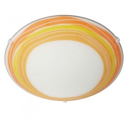 Plafon cristal Basic E27 Trudy Naranja 301735310