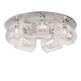 Plafon Cromo cristal Callas 5L 380501110