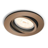 Empotrable LED GU10 Donegal Cobre 5039105PN