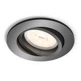 Empotrable LED GU10 Donegal Gris 5039199PN