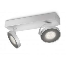 Foco 2 LED Clockwork Aluminio 531724816