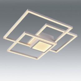 Plafon GLITTER blanco 52W LED Mando CCT L17580-52