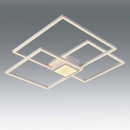 Plafon GLITTER blanco 64W LED Mando CCT L17580-64