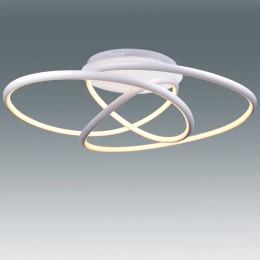 Plafon EQUILIBRIUM blanco 62W LED Mando CCT L17975-62B