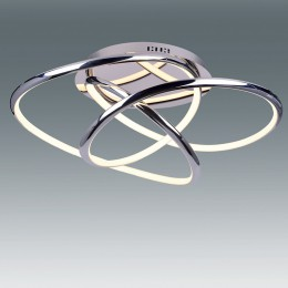 Plafon EQUILIBRIUM Cromo 62W LED Mando CCT L17975-62C