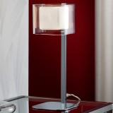 Sobremesa LED Cube 1 Luz Cromo 183542