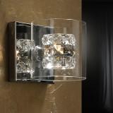 Aplique LED Cristal 1 Luz Flash 391218